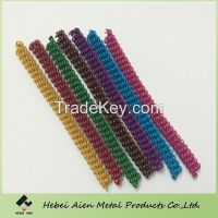 colored craft aluminum wire