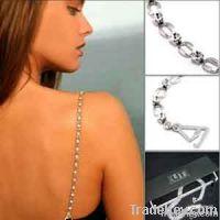 Fashion rhinestone bra straps costume accessories