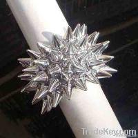 Silver fashion plastic spike fashion bracelet jewelry