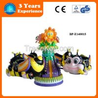 (BP-E140015)Attractive amusement park equipment Rotating bee plane kids playground
