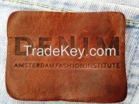 Customized High Quality Jeans Leather Patch