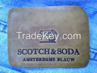 Quality Jeans Leather Label / Leather Patch