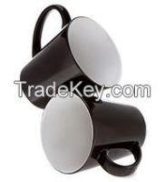 12OZ Black Matte Finish color changing magic Mug for Sublimation printing