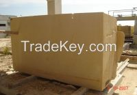 Marble Slabs, Raw Marble Blocks (Brown & Golden)