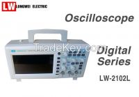 100MHz Two Channels Color Display 1GS/S Sampling Digital Storage Oscilloscope