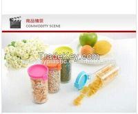 china supplier of 190ml top quality plastic storage jars