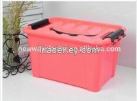 Suzhou Neway new design big foldable storage box plastic storage box