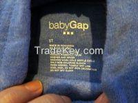 BABYGAP baby girls hoodie