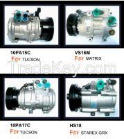 Auto air conditioning -  AC compressor for HYUNDAI