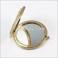 Fashion MINI Folding Pocket Cosmetic Mirror With Company Logo