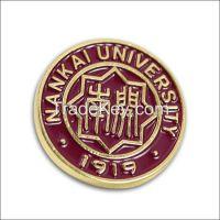 Diseny and ICTI factory custom metal badge promotion printing badge pi