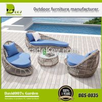 outdoor furniture rattan wicker garden sofa