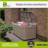 outdoor rattan furniture garden storage box