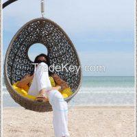 outdoor rattan furniture garden hanging swing chair