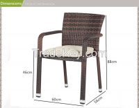 outdoor rattan synthetic furniture garden chair