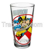 decal 16 oz glass tumbler