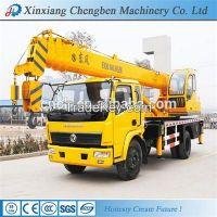 Telescopic arm mobile truck crane for sale