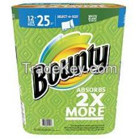 Bounty Select-A-Size Paper Towels (12 Club Rolls)
