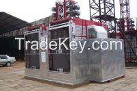 2.7Ton loading weight construction hoist, construction elevator
