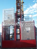 Construction builder's hoist