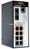Industrial 2.5 Gigabit Ethernet Swtich (SFC 8000HP)