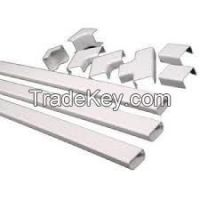 UCAPING&CASING(CHANNEL) FOR WIRING, PVC PIPES AND FITTING FOR CONDIUT WIRING.