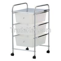 3 Tier Plastic Storage Drawer