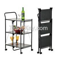 Foldable Kitchen Cart