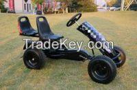double seat  pedal go kart
