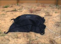 explosion-resistant covering blanket