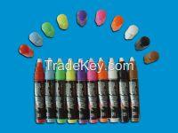 netural smell Damp Multi-colour polyster & acrylic fiber fluorescent pen