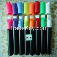 15mm nib easy to be erased highlighter fluorescent marker