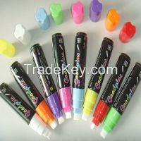 Multi-colour Damp & Dry erase LED board marker