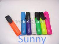 cheapest new design promotional highlighter marker pen