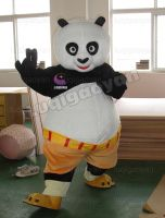 kung fu panda mascot fancy dress adult size