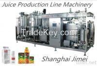 Complete automatic juice production line