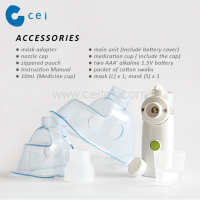 Respiratory Protection Portable Mesh Nebulizer Portable Inhaler Machine Medical Health Physical Therapy Supplies