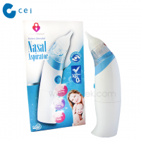 2019 New Trend Waterproof Baby Child Vacuum Nasal Aspirator Snivel Nose Cleaner Soft