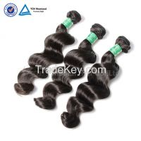 Cheap wholesale 7a virgin Malaysian loose wave remy hair