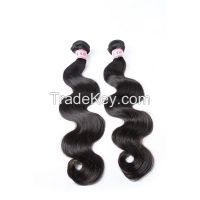 Wholesale grade 7a pure indian remy virgin human hair extensions