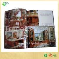 Printed Furniture Magazine Printing in China (CKT- BK-387)