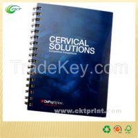 Customized Notebook Print with Spiral Binding (CKT- BK-386)