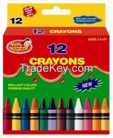 Kids Club 12 Colors Crayon in printed box