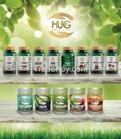 Acai, Acerola, Chlorella, Spirulina, Papaya powders 100g