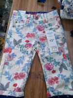 Denim Kid's Girls 3quqrter & Pants