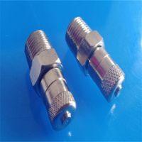 "air brake valve , brake valve , fill valve with size 1/8"" NPT and 1/8"" BSPT"