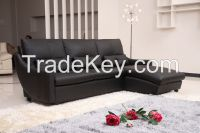 Classic Leather Corner Sofa Bed For Living Room Furniture