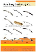 Zinc Handles, White Metal Handle