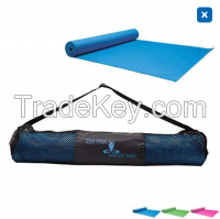Yoga Fitness Mat With Carrying Case