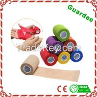 High Quality Customer Colors Non-woven Elastic Cohesive Bandage